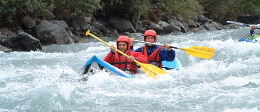 canoe rafting