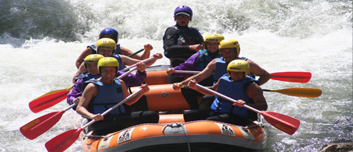 rafting spain