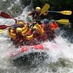 Aude Rafting : Train de vagues