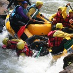 Aude Rafting : Gamelle